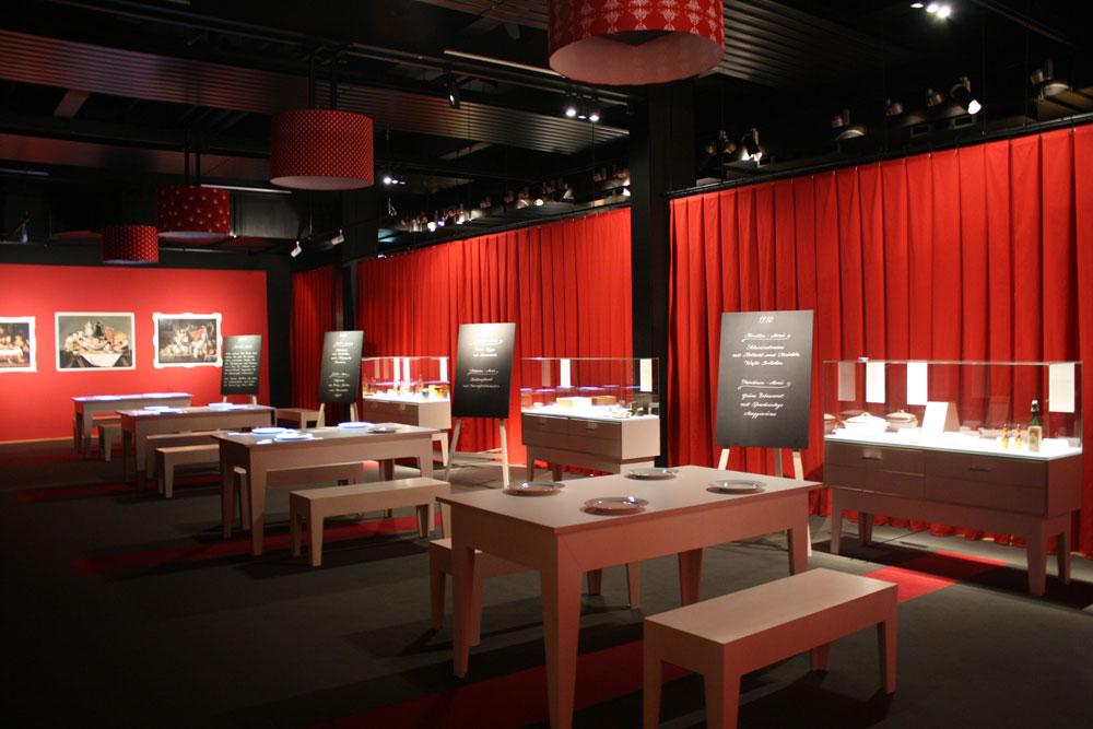 Restaurant in der Ausstellung Unser täglich Brot, Technoseum Mannheim